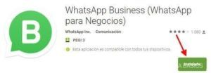 Aplicacion Whatsapp Business