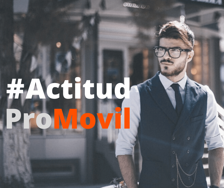#actitudpromovil