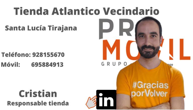 Cristian Atlantico Vecindario PROMOVIL