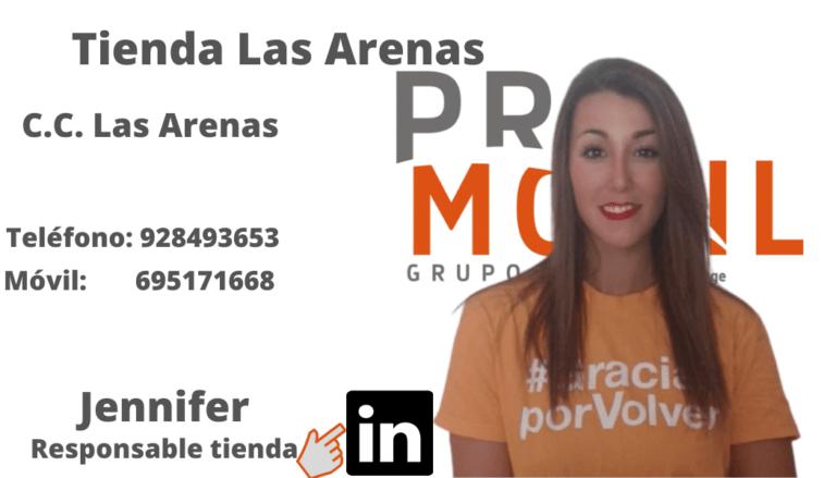 Jennifer Tienda Las Arenas PROMOVIL