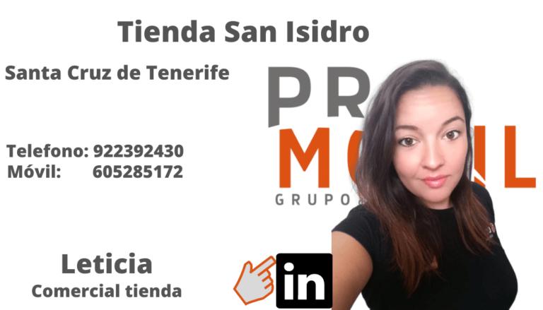 Leticia San Isidro PROMOVIL