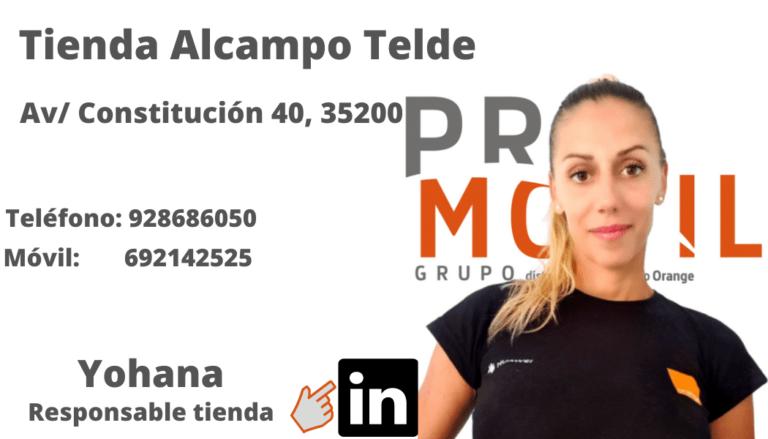 Yohana Alcampo Telde PROMOVIL
